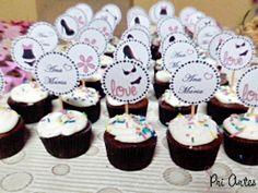 Cupcakes. Chá de Lingerie