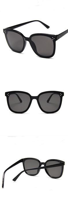 dce19216b3a72 Men Vintage Style Geometric Square Shape Cat-eye Sunglasses