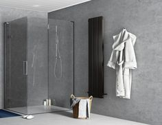 Ready to step into the New Year with a new bathroom? We've forecasted the best new bathroom trends for so you can create the perfect bathroom at home. Kitchen Wall Panels, Bathroom Wall Panels, Shower Wall Panels, Concrete Wall Panels, Bathroom Trends, World Of Interiors, Wet Rooms, Grout, Showers