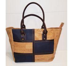 Cork Fabric, Bag Tutorials, Cloaks, Beige, Handbags, Tote Bag, Sewing, Ideas, Fashion