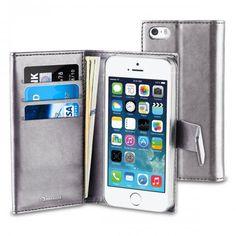 Köp Muvit Magnet Wallet Apple iPhone SE/5S/5 silver online: http://www.phonelife.se/muvit-magnet-wallet-apple-iphone-se-5s-5-silver