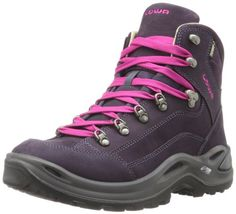 Lowa Women's Renegade Pro Goretex Mid Hiking Boot,Prune,7.5 M US *** Learn more by visiting the image link.