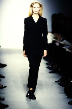 Calvin Klein Collection Spring 1997 Ready-to-Wear Fashion Show - Kirsty Hume