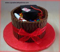 Chocolate and M&M cake