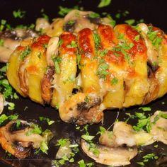 Potato Recipes, Sushi, Shrimp, Potatoes, Vegetarian, Meals, Chicken, Ethnic Recipes, Meal