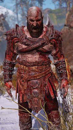 God of war kratos Best Gaming Wallpapers, Animes Wallpapers, League Of Legends Poster, God Of War Game, Paint Splash Background, Orc Warrior, Vikings, Greek Mythology Tattoos, Gorillaz