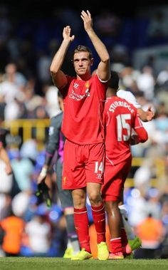 Jordan Henderson has officially been named Liverpool's vice-captain Best Football Team, Liverpool Football Club, Liverpool Fc, Football Soccer, Sports Picks, Sports Stars, Henderson Liverpool, Uefa Super Cup, This Is Anfield