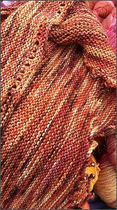 Ravelry: irisine's Herbstschal. Knit Night pattern from Inspiration Knits/Louise Zass-Bangham