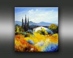 Pastel Landscape, Landscape Artwork, Small Paintings, Nature Paintings, Artist Painting, Painting & Drawing, Mini Canvas Art, Painting Inspiration, New Art