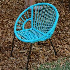 #Concours The Rocking Company ! Une chaise pour enfants, en scoubidou, à gagner !
