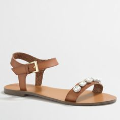 Best Spring Sandals Under 50: Embellished Ankle-Strap Sandals