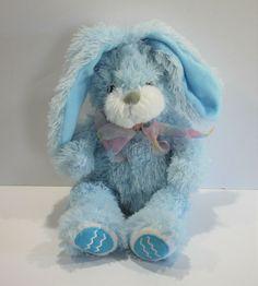 "Burton Burton Plush Bunny Rabbit Blue Easter Egg Feet 14"" #BurtonBurton Burton Burton, Bunny Plush, Bunny Rabbit, Free Items, Easter Eggs, Teddy Bear, Toys, Blue, Animals"