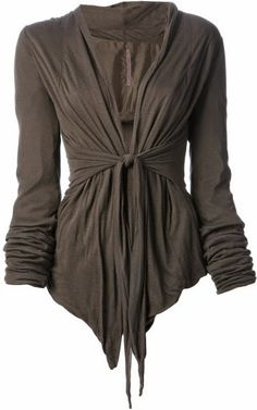 Wrap Up Cardigan.  Really would love to find an affordable version of this