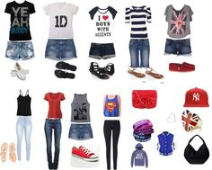 """What I would possibly wear to a 1D concert"" by srpac on Polyvore"