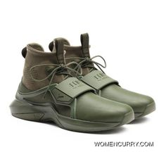 aa03d1be5e9 FENTY TRAINER HI MENS SNEAKERS Cypress-Cypress Style Number 191001-02