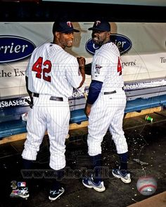 Minnesota Twins - Rondell White, Torii Hunter Photo