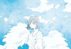 r u an angel Art Anime, Anime Art Girl, Manga Anime, Aesthetic Art, Aesthetic Anime, Arte Peculiar, Super Heroine, Cartoon Art, Cute Art