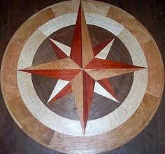 Hardwood Floor Medallions By Majestic Medallions And Inlays At  CustomMade.com