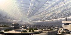 ITT; Cities from future/planets (Fantasy art) - Bodybuilding.com Forums