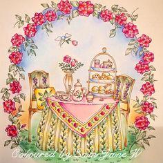 #romanticcountrycoloringbook #adultcolouring #eriy