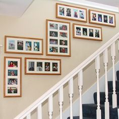 Wall collage template