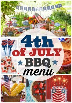 easy 4th of july bbq menu