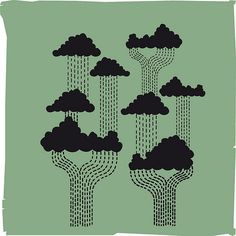 "In love with this graphic called ""Rain Forest""  #rain #rainwater #rainforest"