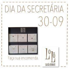 Dia da Secretária. Não esqueça de encomendar. #lologiorge #moda #mulher #secretária #diadasecretária #encomenda #colardavida . WhatsApp (11) 9.9901.9408