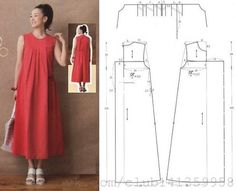 Amazing Sewing Patterns Clone Your Clothes Ideas. Enchanting Sewing Patterns Clone Your Clothes Ideas. Sewing Dress, Dress Sewing Patterns, Sewing Patterns Free, Free Sewing, Sewing Clothes, Clothing Patterns, Diy Clothes, Linen Dress Pattern, Fashion Sewing
