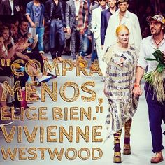 No hace falta comprar mucho, hace falta comprar bien #viviennewestwood #fashion #moda #quotes #citas #frases #frasedeldía #diseñadores Vivienne Westwood, Fashion Words, Me Quotes, Instagram Posts, Shopping, Quote Of The Day, Inspirational Quotes, Ego Quotes