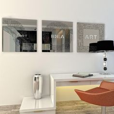 mirrored wall panels and decorative mirrors with laser cut designs