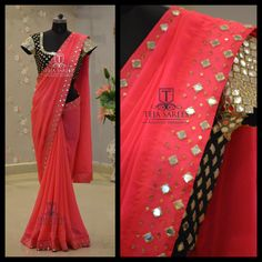 TS-SR- 315AVAILABLEFor orders/querieswhatu2019s app us on8341382382 orCall us @8790382382Mail us tejasarees@yahoo.com LikeNeverBefore  Tejasarees  Newdesigns  icreate  sarees  tejupavuluri  hyd  mirrors Stay Amazed!! Team Teja!!  14 October 2016