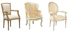 Louis XVI Style Chairs: Louis Seize Dining Chairs and Armchairs
