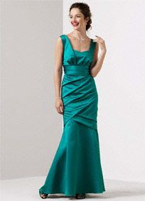 Bridesmaid dress for my sister's wedding in November. It will be in the color truffle (dark brown). Pretty!