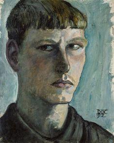 Autorretrato de 1912