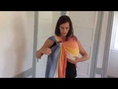 This video shows how to use a ring sling with a newborn. It includes tips for setting the sling before you put in baby, tightening, and making a seat.
