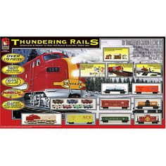 Thundering Rails Train Set
