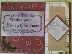Colorful, Creative Cards: Wishing you a Merry Christmas