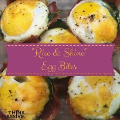 Are you struggling with what to make in the morning other than eggs 5 ways? Here is a quick recipe that will add some fun and flavor to your morning routine. QUICK TIP: Put in the oven before you shower to multi-task.  Ingredients: 10 Egg Whites  2 Whole Eggs 12 pieces of Low Sodium Turkey Bacon 2 Cups of Fresh Spinach Chopped  Cup Cheddar Cheese Shredded  Cup Chopped Onion  Tsp Cumin  Tsp Paprika  Tsp. Cayenne Pepper Dash of Salt and Pepper Preparation:  Whisk Eggs for 1 minute and add in…