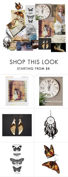Be Filled With Wonder by jarmgirl on Polyvore featuring Tim Holtz, vintage, etsy, handmade, etsygifts and shopetsy