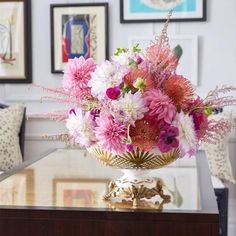 Fresh blooms for your desk!