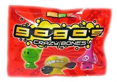 Crazy Bones Gogos Series 1 Booster Pack 3 Crazy Bones $1.99