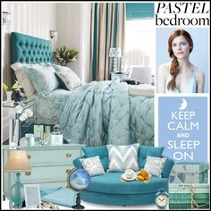 """A Sweet Pastel Bedroom"" by manicurelover on Polyvore"