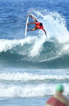 Filipe Toledo making it look easy. 2015 Quiksilver Pro Gold Coast