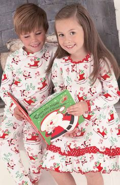 From CWDkids   Twas the Night Before Christmas Book. Matching Family Christmas  Pjs d20701b4c