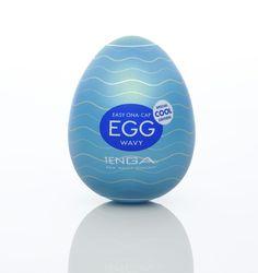 Tenga Cool Egg - Wavy
