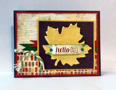 Hello Fall in Simply Pressed Clay