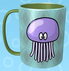 Jellyfish Mug / #Animal
