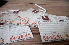 i always love vintage looking tags