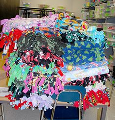 No Sewing Required | Student Community Service Projects | PTOToday.com
